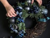 Новогодний венок своими руками. 12 мастер-классов по изготовлению венков в домашних условиях