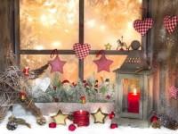 Как украсить окна на Новый год — полезные советы и креативные фото идеи
