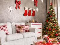 Как украсить стены в квартире на Новый год: 8 лучших идей с фото как украсить стену на новый год своими руками