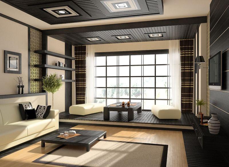 dizajn-interera-v-yaponskom-stile-s-podiumom