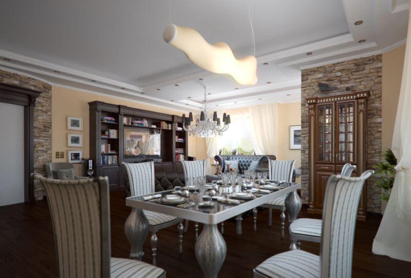 Дизайн интерьера квартиры в классическом английском стиле