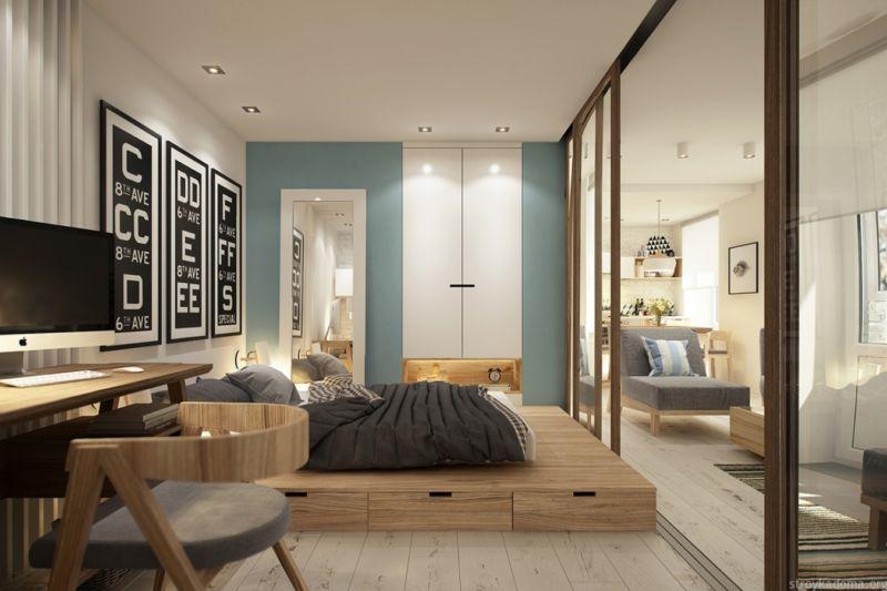 Перепланировка квартиры: объединение кухни и комнаты в