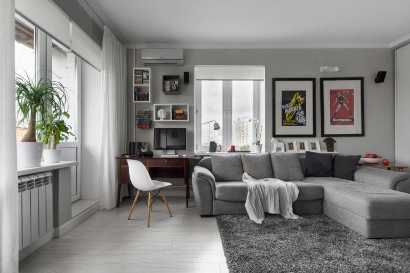 Август 2012 - - Дизайн проект перепланировка квартир