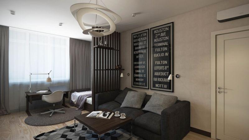 Дизайн проект 2-х комнатной квартиры (П-44Т серия) с