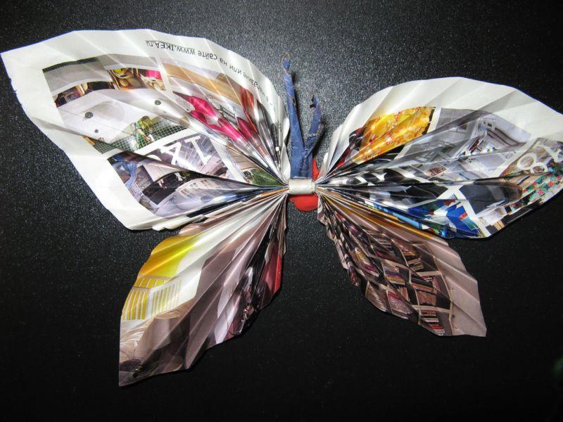 Бабочки своими руками - пошаговая инструкция с фото и описанием