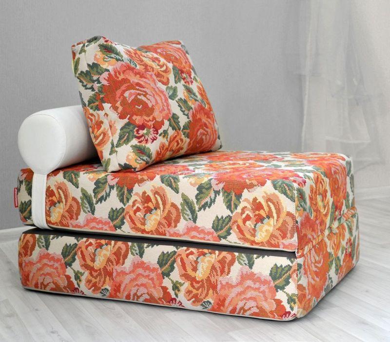 Бескаркасное кресло кровать