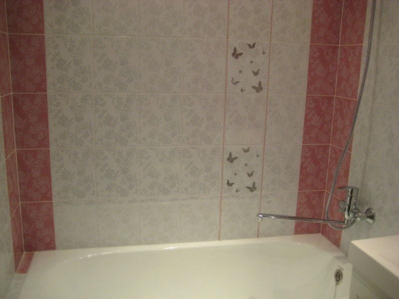 Дизайн ванной комнаты отделанной пластиковыми панелями