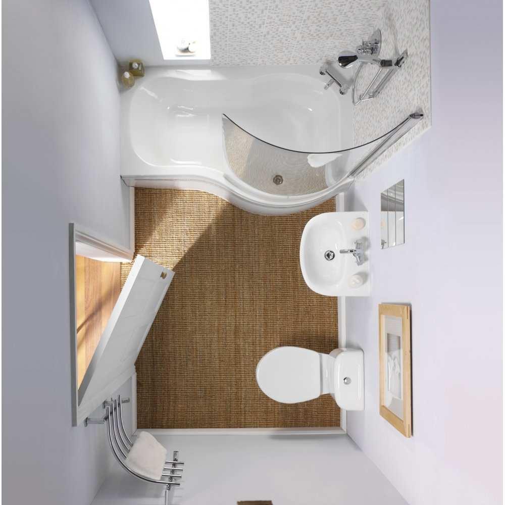 Интерьер маленькой ванной — фото идеи безупречного дизайна в ванной комнате