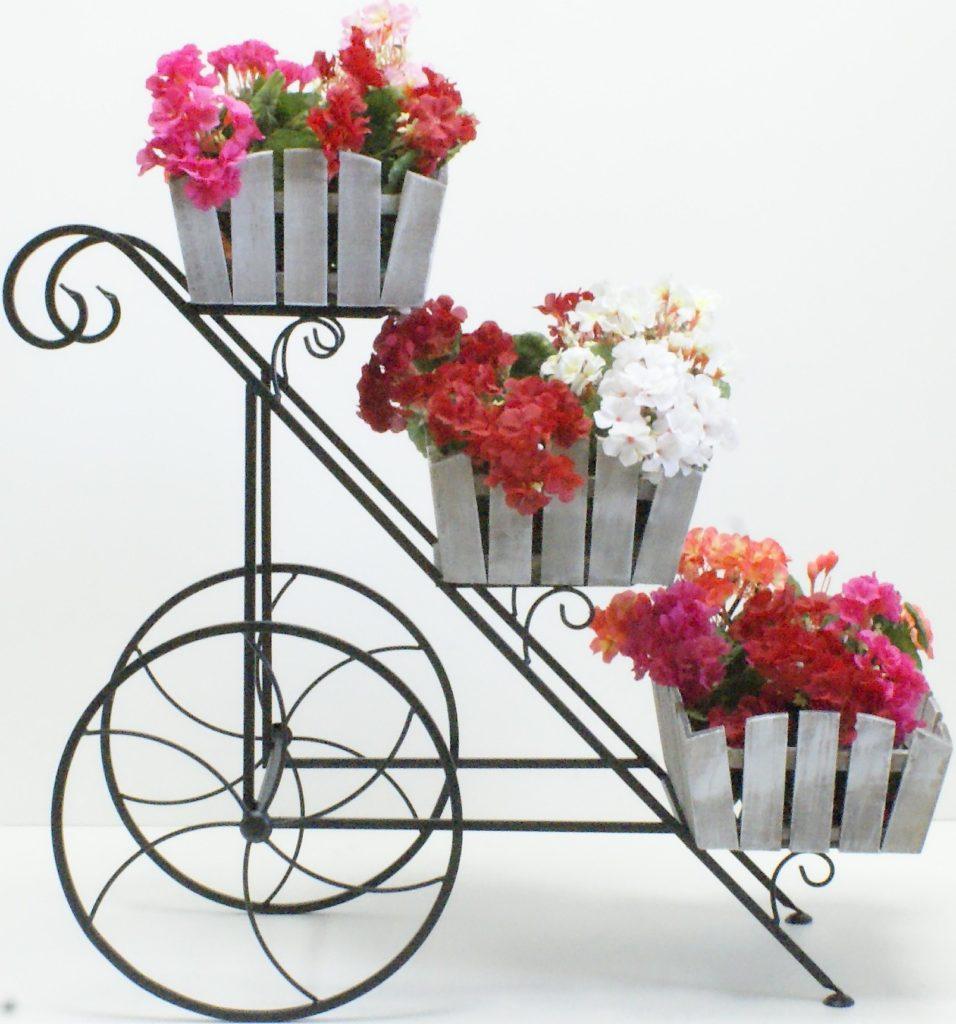 Полка для цветов своими руками из металла