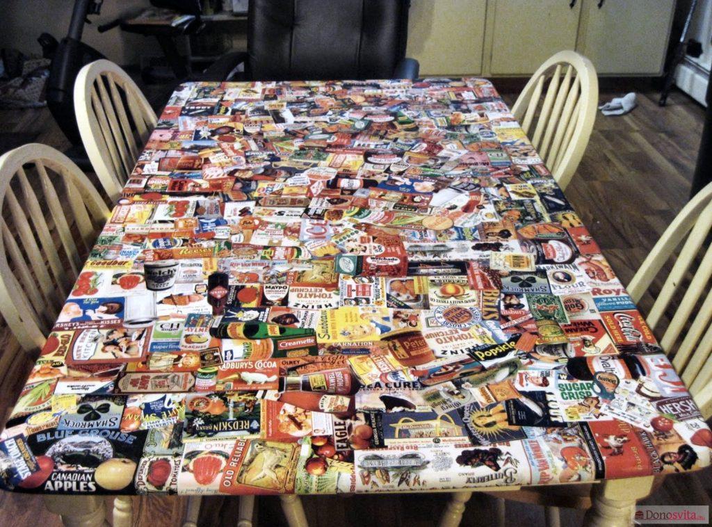 Журнальный столик своими руками из журналов 49