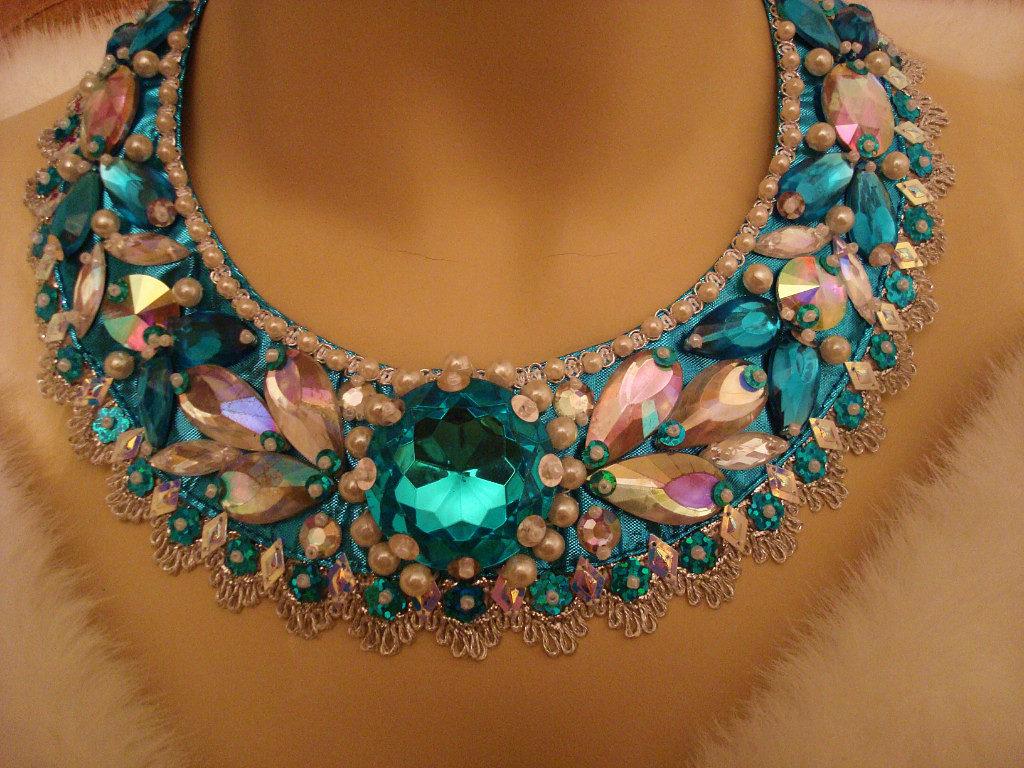 Ожерелье своими руками мастер класс 62
