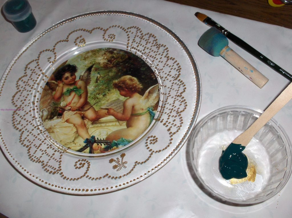 Как делать на тарелке