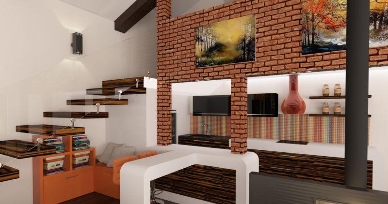 стиль лофт в интерьере квартиры фото