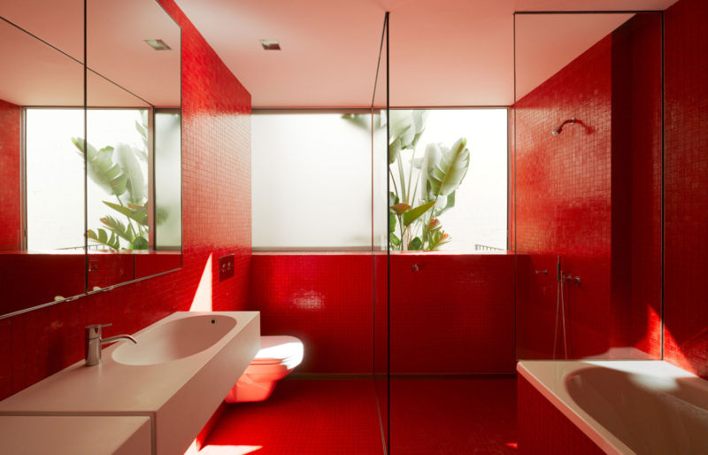Popular color for bathroom walls