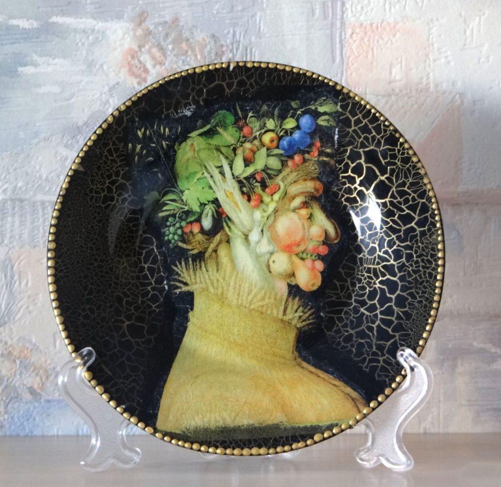 Декупаж тарелок своими руками фото 279