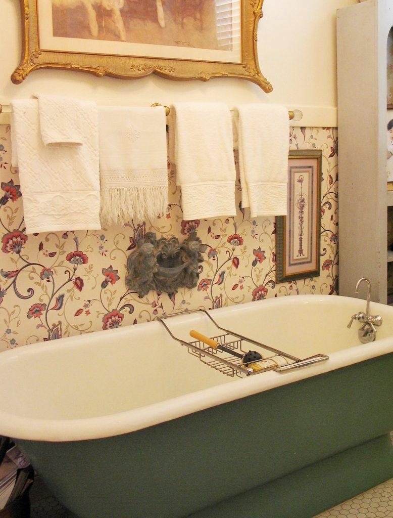 Как сделать обои для ванны 339
