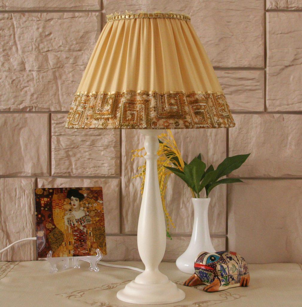 Настольная лампа своими руками: как сделать, абажур, идеи и 51