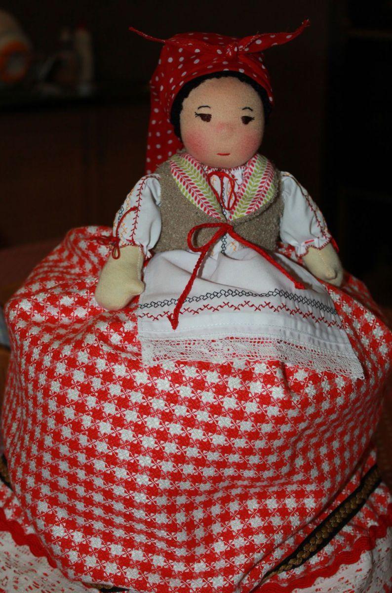 Как сшить куклу на чайник своими руками  470