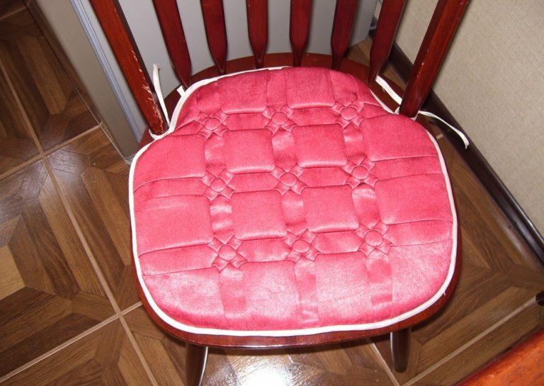 Подушечки для стульев своими руками фото 12