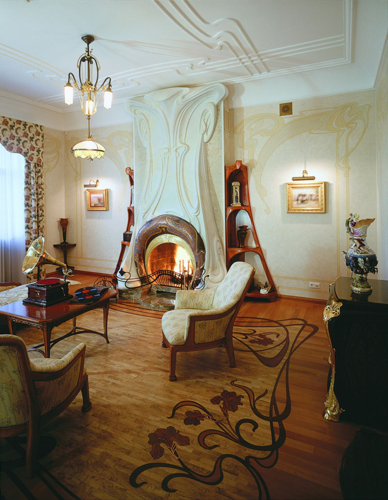 art-nouveau-living-room