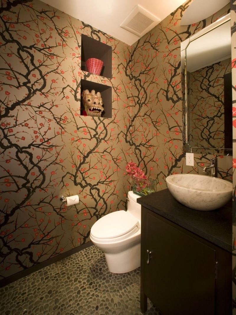 asian-flair-in-a-bathroom-with-cherry-blossom-wallpaper
