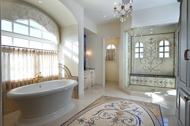 bathroom-interior-with-glass-and-stone-mosaic-tiles