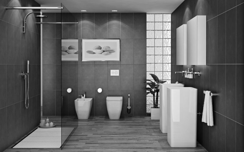 black-and-white-tile-bathroom