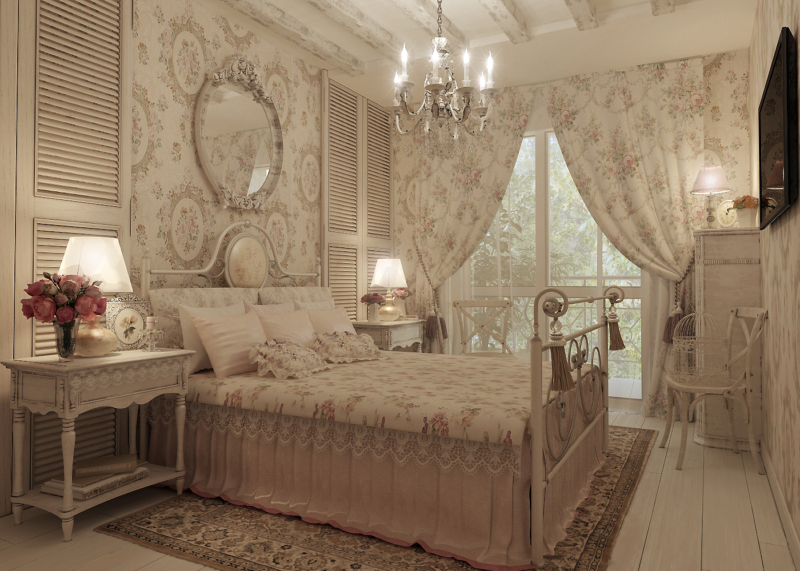 decorate-bedroom-in-the-provence-style-1