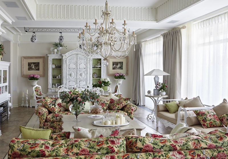 decorate-living-room-in-the-provence-style