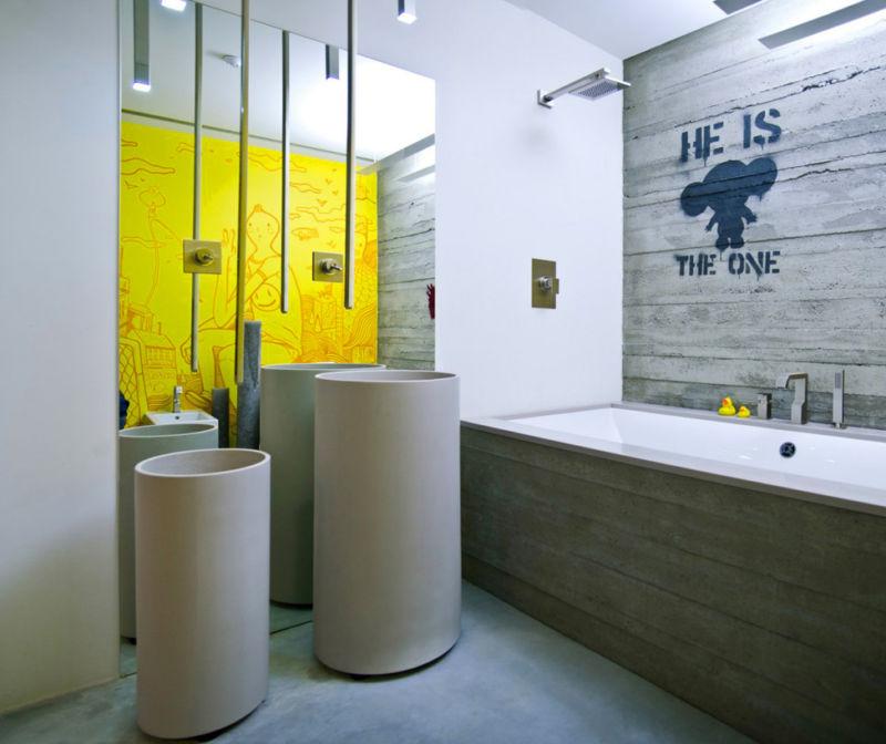 Дизайн интерьера ванной комнаты 2017