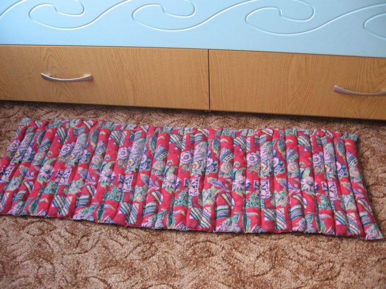 Как сшить коврик своими руками 95