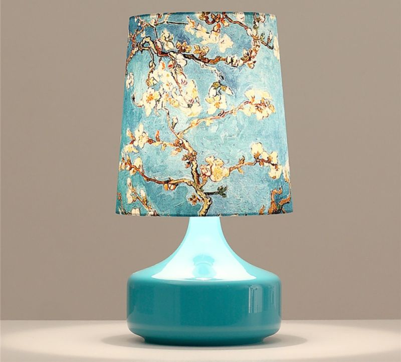 iminovo-decorative-table-lamps-blue-beige-printing-font-b-fabric-b-font-font-b-lampshade-b