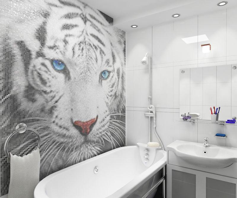 panno_iz_mozaiki_dlya_vannoy_tigr