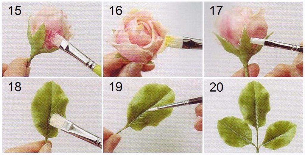 Видео мастер класс ветка розы