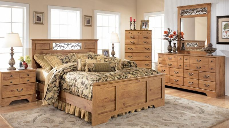 rustic-pine-bedroom-furniture-decor-ideas