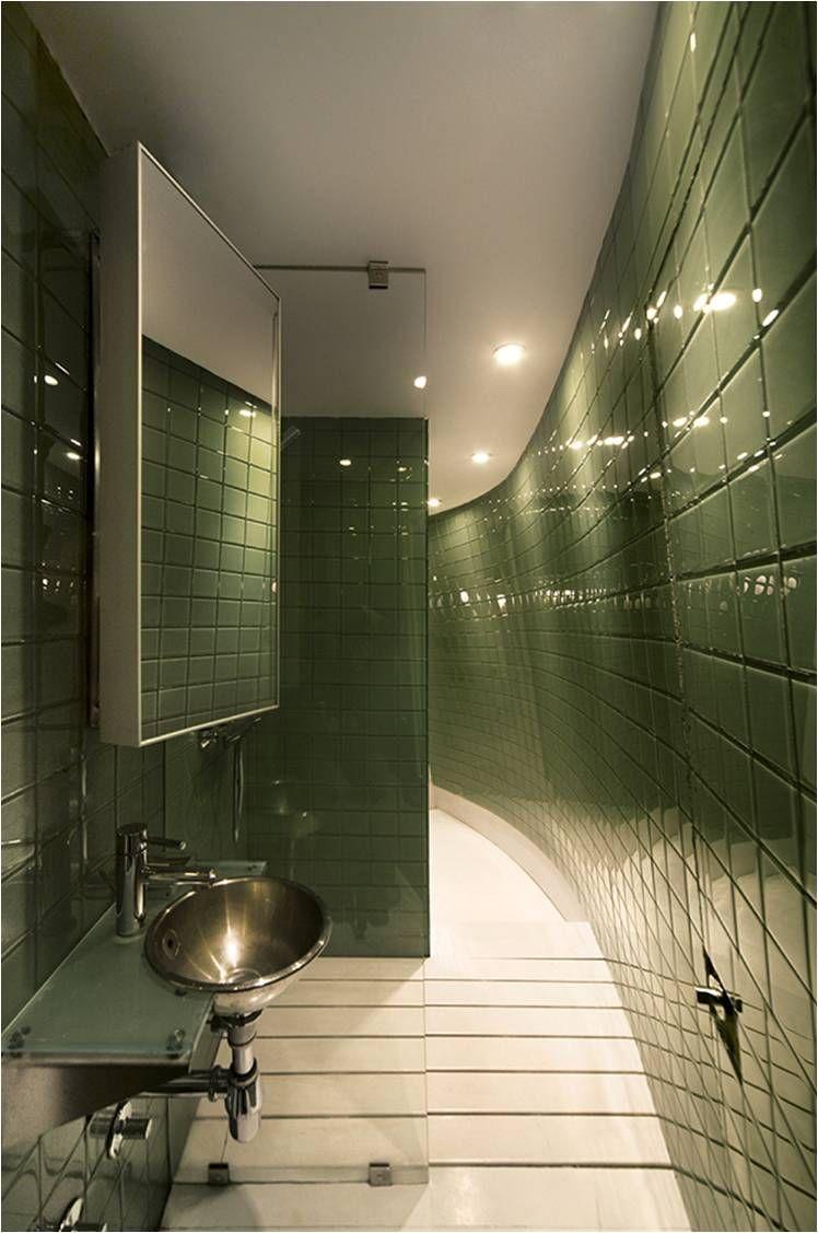 Интерьер ванной комнаты 2017