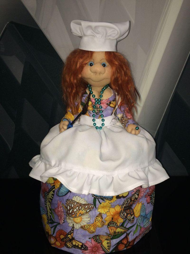 Кукла для чайника своими руками фото 833
