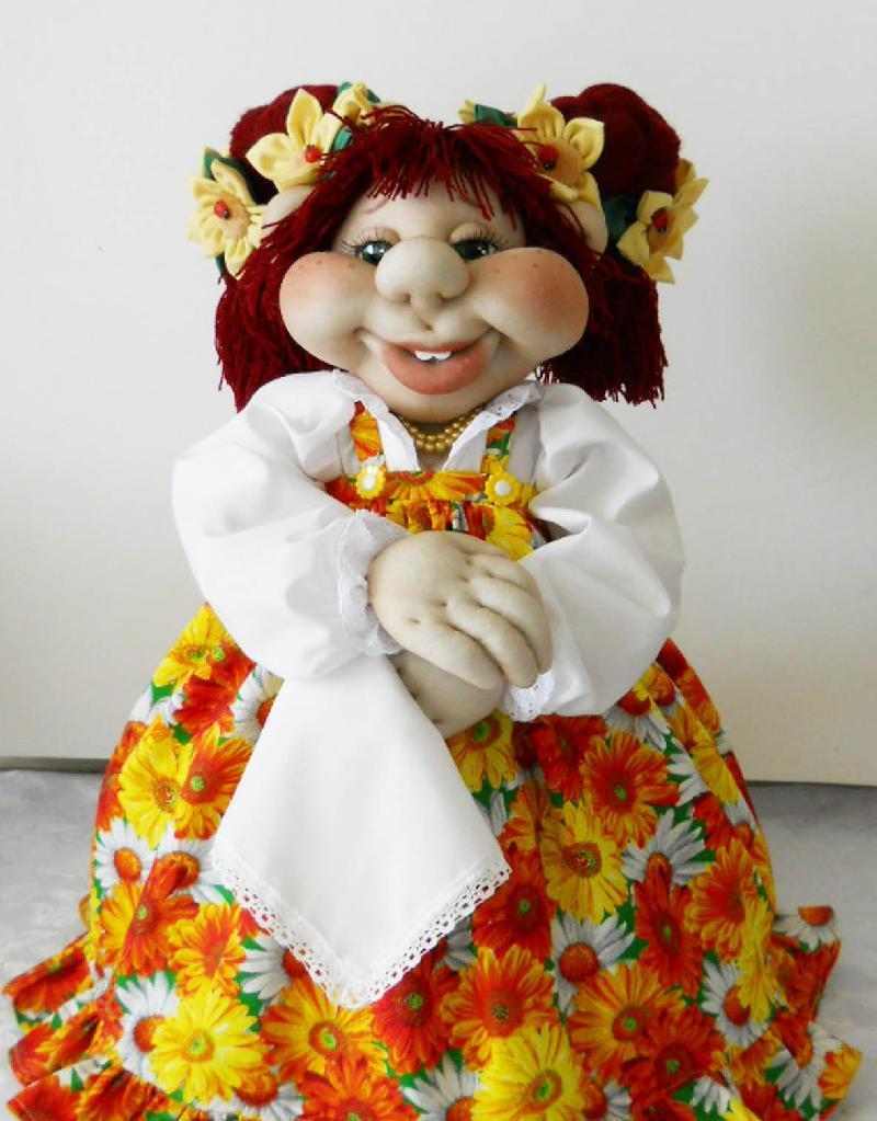 Кукла для чайника своими руками фото 89