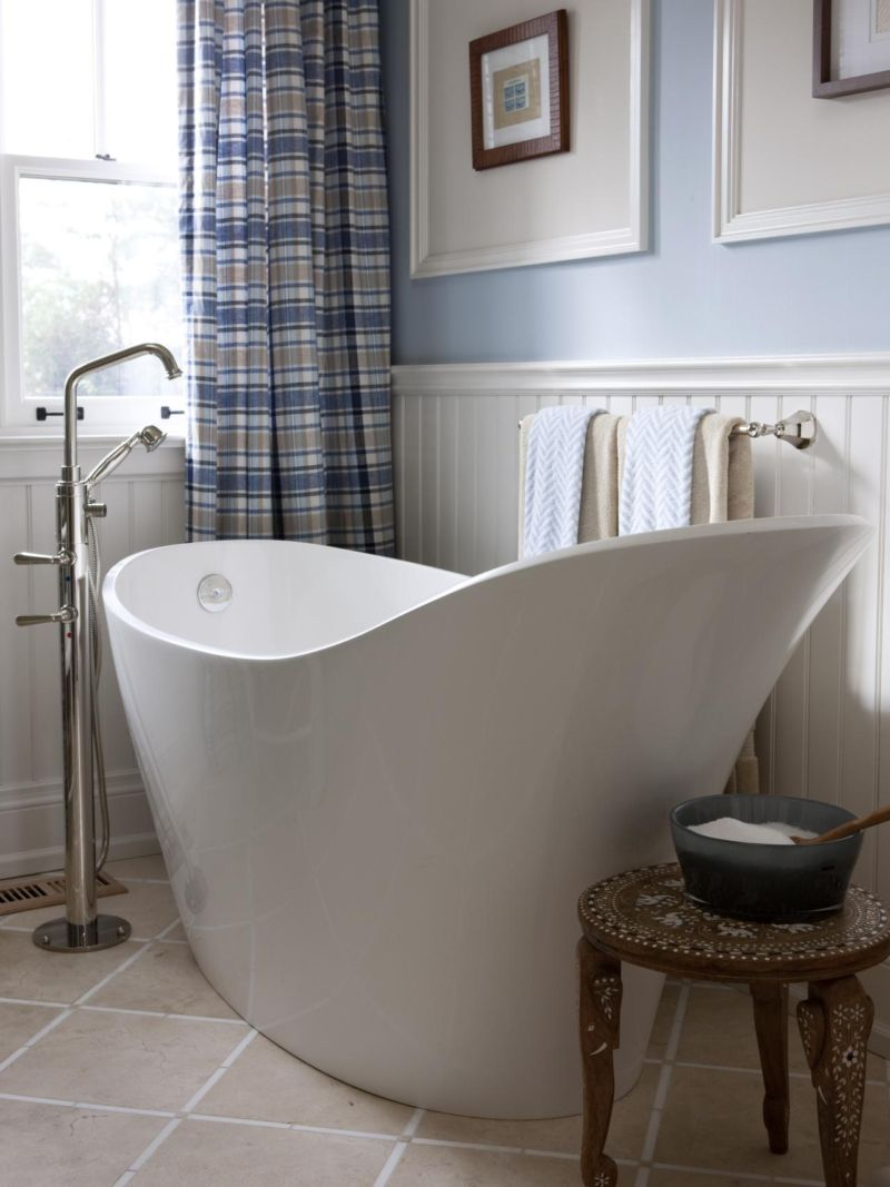 bathroom-furniture-interior-fabuloud-home-interior-bathroom-small-space-design-ideas-awesome-white-acrylic-freestanding-soaking-bathtub-and-appealing-stripped-sliding-curtains-windows-also-attractive
