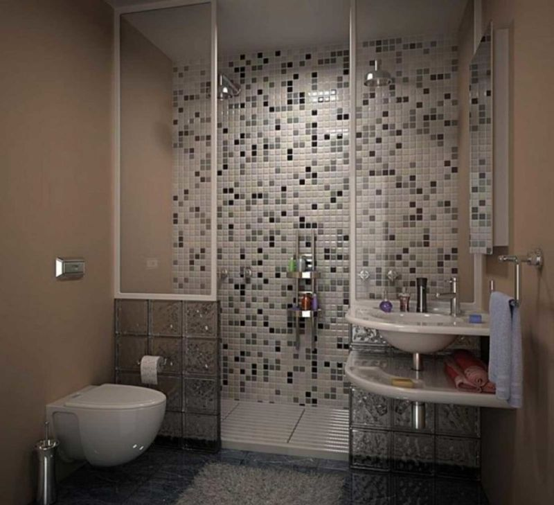 bathroom-interior-small-spaces-for-bathroom-with-two-tone-glass-mosaic-shower-backsplash-without-door-combined-with-white-floating-toilet-modern-bathrooms-for-small-spaces-936x853