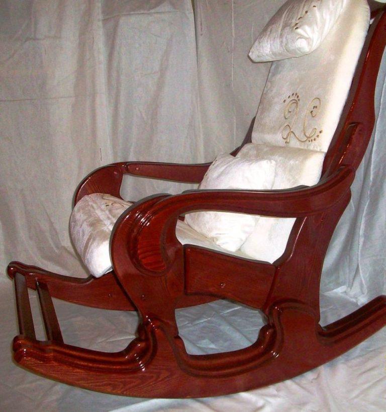 Кресло качалка из своими руками