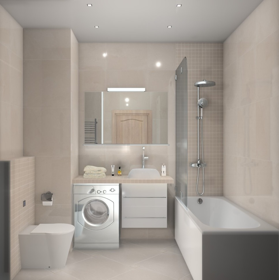 ванная комната дизайн с туалетом