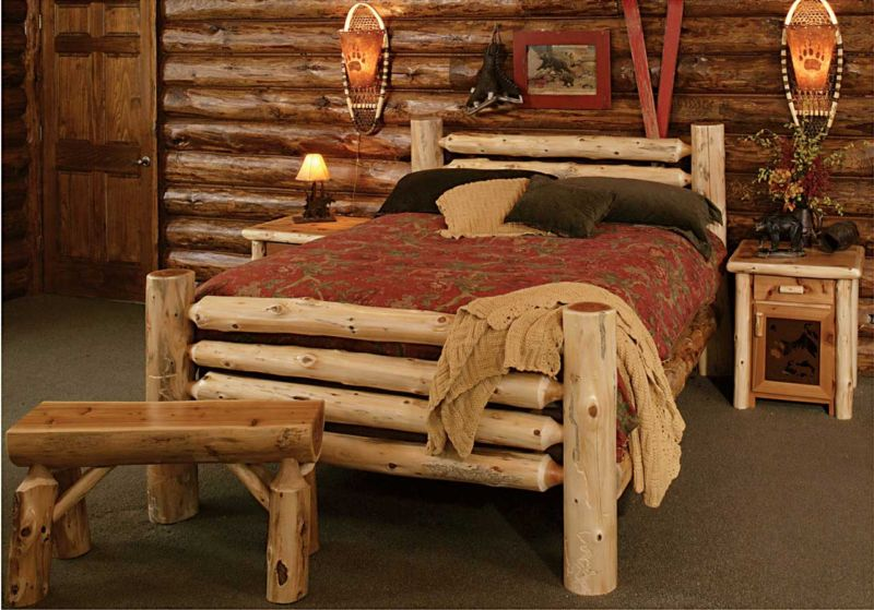 country-rustic-country-rustic-in-furniture-style-uses-natural-log-trees-look-in-bedstead-and-bench-also-nightstand-and-wall-interior-decoration