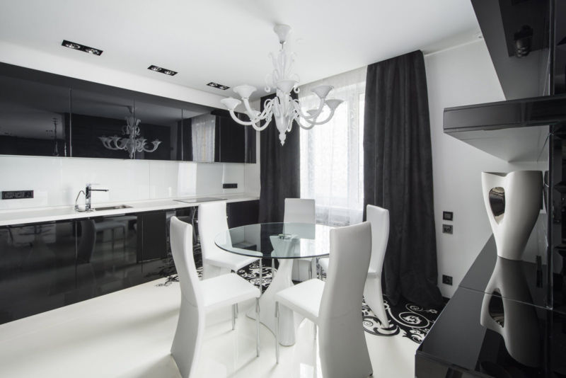 dizajn-cherno-beloj-kvartiry-v-stile-art-deko4