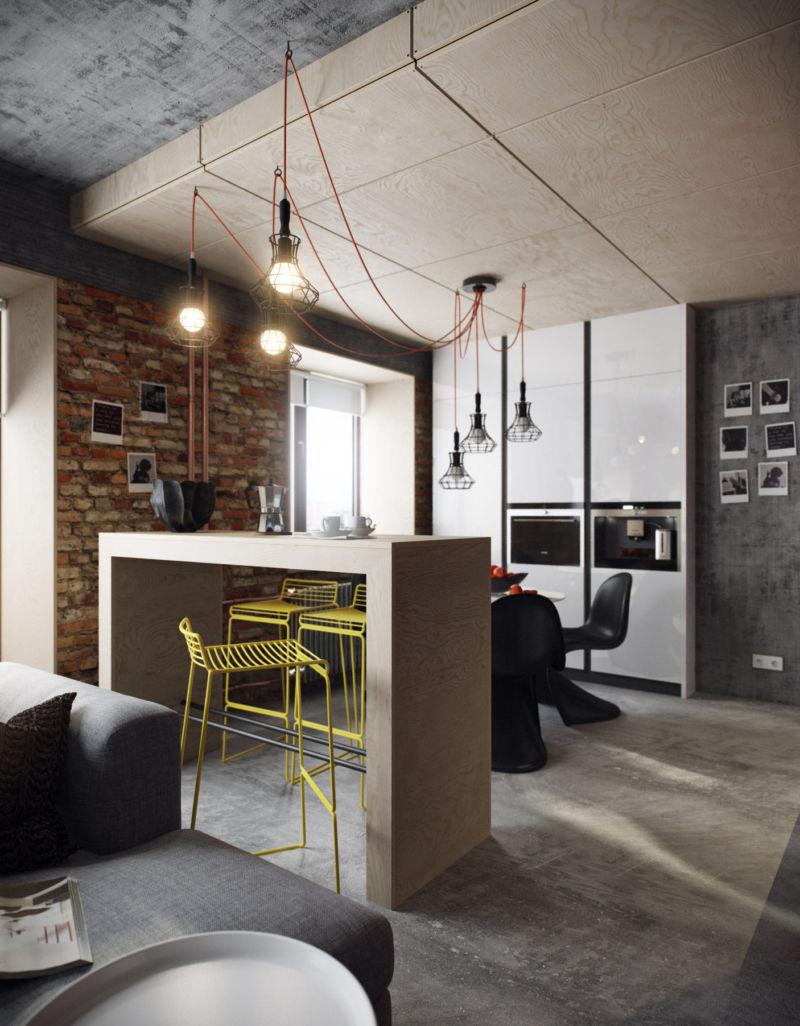 dizajn-dvukhurovnevoj-kvartiry-v-stile-loft7