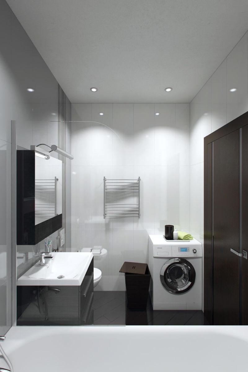 Дизайн однокомнатной квартиры  175 фото в интерьере