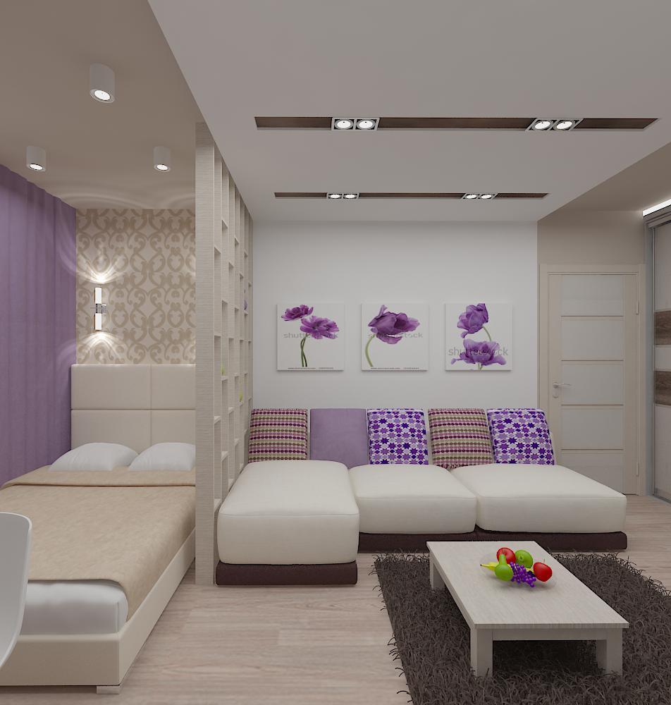 Дизайн однокомнатных квартир