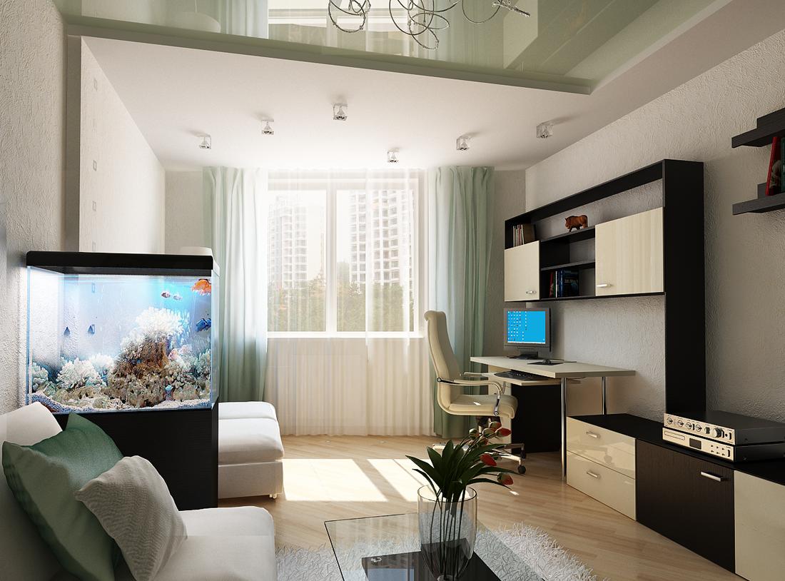 Дизайн двухкомнатной квартиры: оптимизация пространства с помощью зонирования и перепланировки