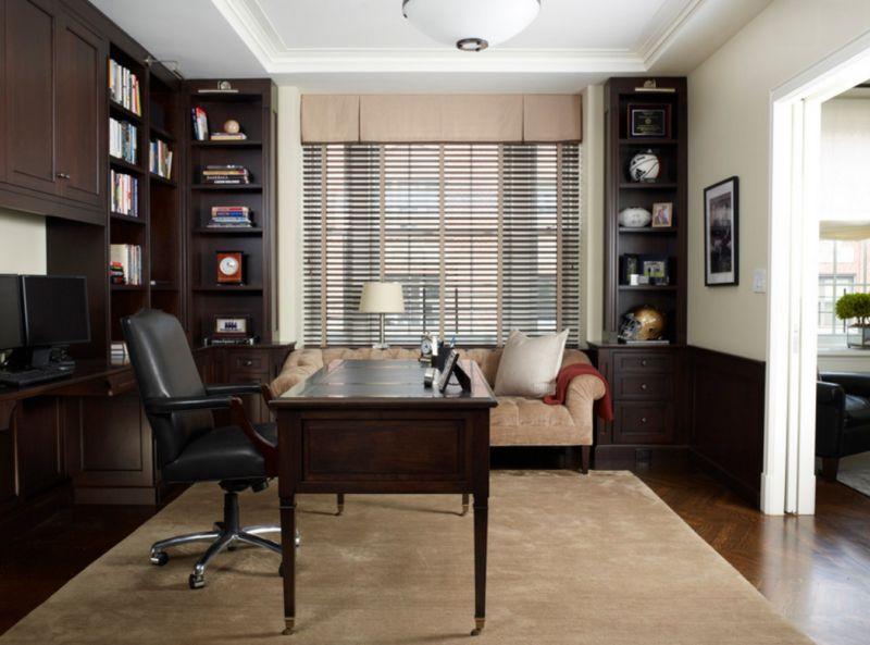 мебель, домашний, кабинет, фото, интерьер