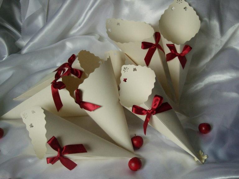 Корзинки для лепестков роз своими руками